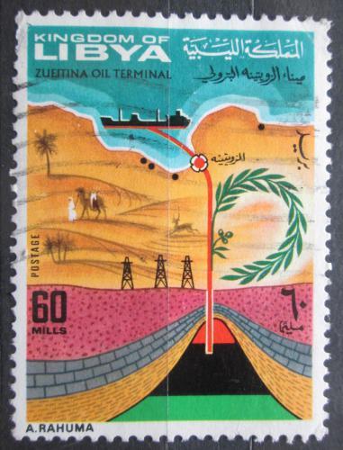 Poštovní známka Libye 1968 Tìžba ropy Mi# 257
