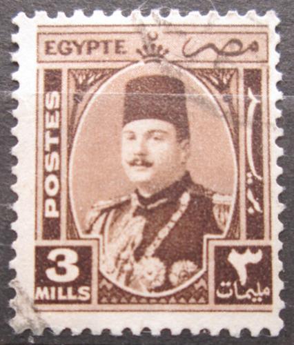 Poštovní známka Egypt 1944 Král Farouk Mi# 270