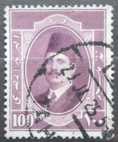 Poštovní známka Egypt 1923 Král Fuad I. Mi# 91
