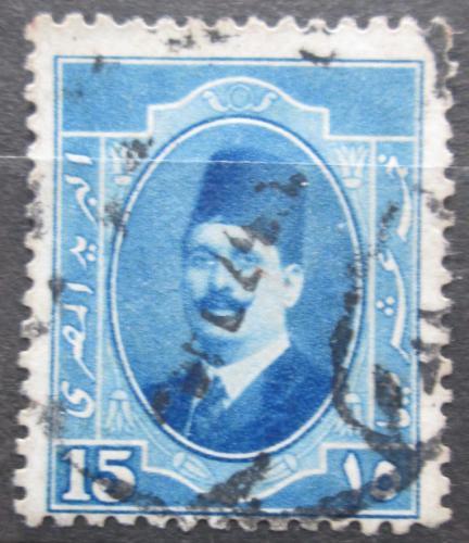 Poštovní známka Egypt 1923 Král Fuad I. Mi# 88