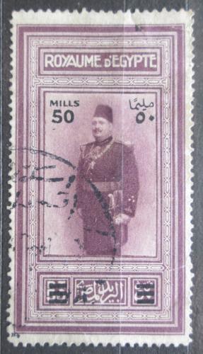 Poštovní známka Egypt 1932 Král Fuad I. pøetisk Mi# 158