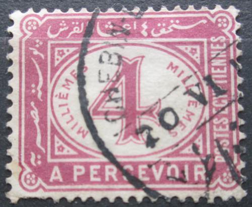 Poštovní známka Egypt 1889 Doplatní Mi# 16