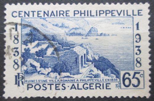 Poštovní známka Alžírsko 1938 Philippeville, 100. výroèí Mi# 148