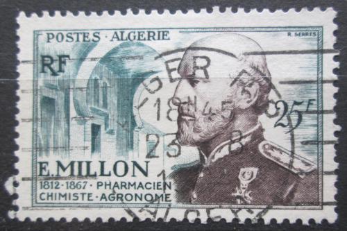 Poštovní známka Alžírsko 1954 Eugene Millon Mi# 315