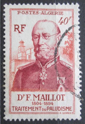 Poštovní známka Alžírsko 1954 Francois Maillot Mi# 316