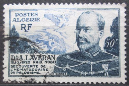 Poštovní známka Alžírsko 1954 Charles Louis Alphonse Laveran Mi# 317