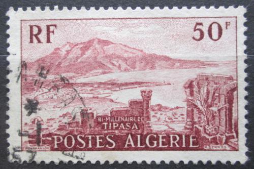 Poštovní známka Alžírsko 1955 Ruiny Tipasa Mi# 342