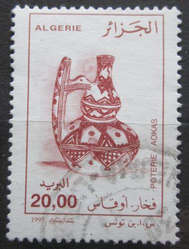 Poštovní známka Alžírsko 1995 Hrnèíøská výroba Mi# 1144