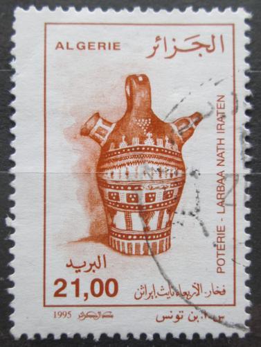 Poštovní známka Alžírsko 1995 Hrnèíøská výroba Mi# 1145