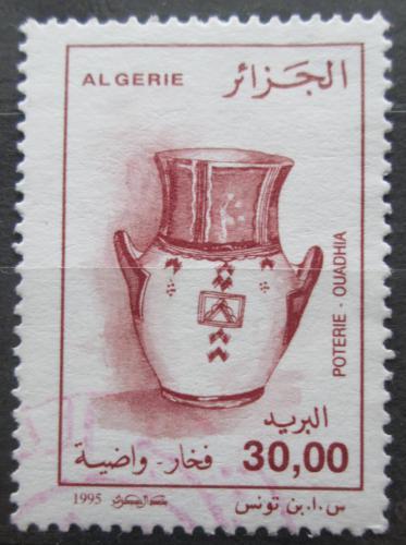 Poštovní známka Alžírsko 1995 Hrnèíøská výroba Mi# 1146