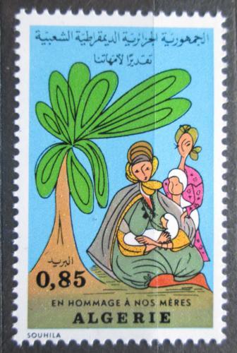 Poštovní známka Alžírsko 1974 Den matek Mi# 624