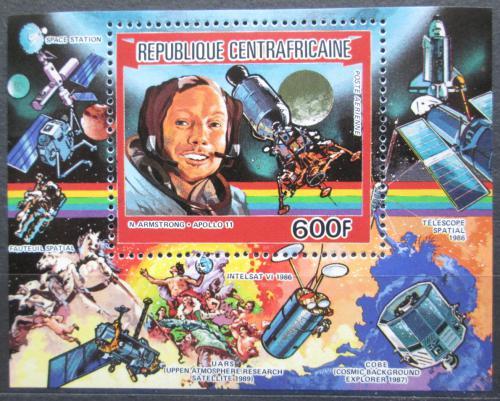 Poštovní známka SAR 1984 Neil Armstrong Mi# Block 83