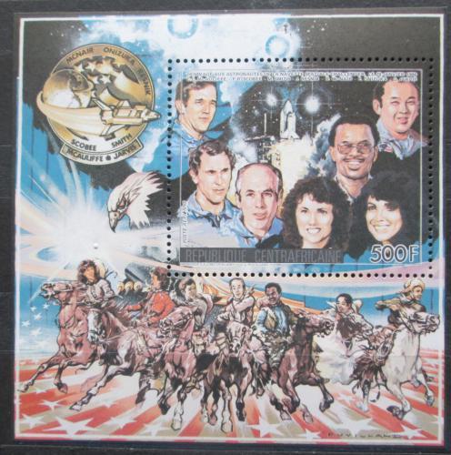Poštovní známka SAR 1986 Astronauti, Mise Challenger Mi# Block 392