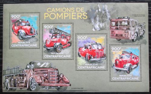 Poštovní známky SAR 2014 Hasièská auta Mi# 4820-23 Kat 16€