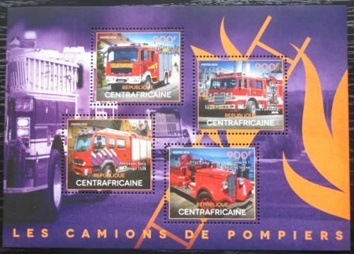 Poštovní známky SAR 2014 Hasièská auta Mi# 5105-08 Kat 16€