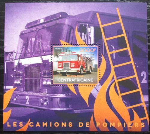 Poštovní známka SAR 2014 Hasièská auta Mi# Block 1234 Kat 14€