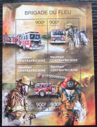 Poštovní známky SAR 2013 Hasièská auta Mi# 4216-19 Kat 16€