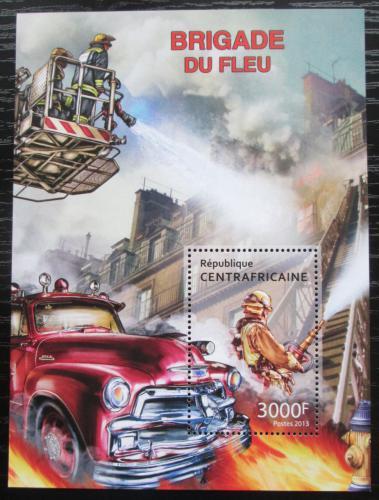 Poštovní známka SAR 2013 Hasièská auta Mi# Block 1057 Kat 14€
