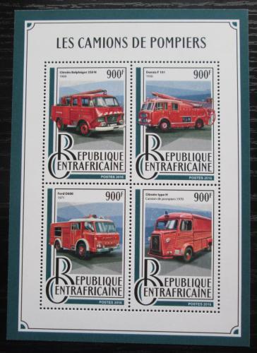 Poštovní známky SAR 2016 Hasièská auta Mi# 6145-48 Kat 16€