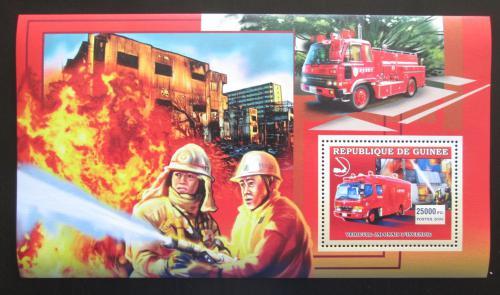 Poštovní známka Guinea 2006 Japonští hasièi Mi# Block 1067