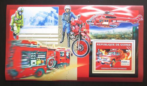 Poštovní známka Guinea 2006 Japonští hasièi Mi# Block 1068