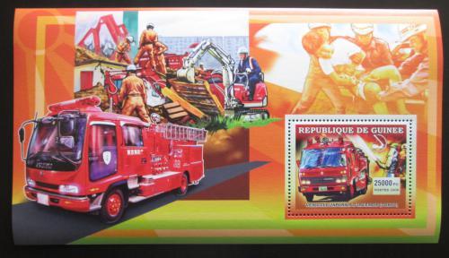 Poštovní známka Guinea 2006 Japonští hasièi Mi# Block 1070
