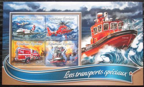 Poštovní známky Togo 2016 Záchranáøi Mi# Mi# 7509-12 Kat 12€