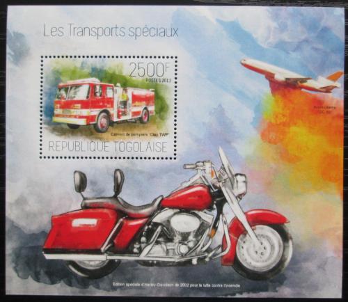Poštovní známka Togo 2013 Záchranáøi Mi# Mi# Block 894 Kat 10€