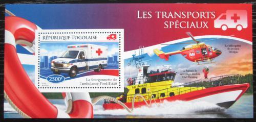 Poštovní známka Togo 2014 Záchranáøi Mi# Mi# Block 1109 Kat 10€