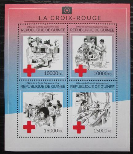 Poštovní známky Guinea 2014 Èervený køíž Mi# 10637-40 Kat 20€