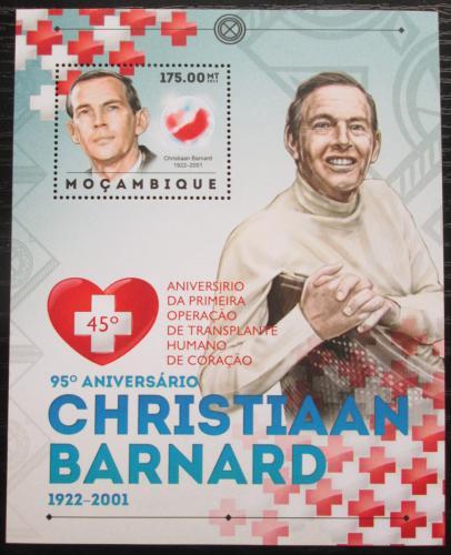 Poštovní známka Mosambik 2012 První operace srdce Mi# Block 684 Kat 10€