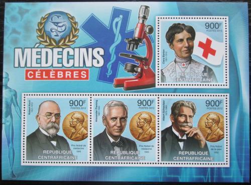 Poštovní známky SAR 2012 Významní lékaøi Mi# 3697-3700 Kat 16€