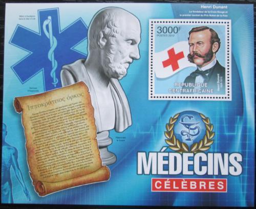 Poštovní známka SAR 2012 Henri Dunant Mi# Block 956 Kat 14€