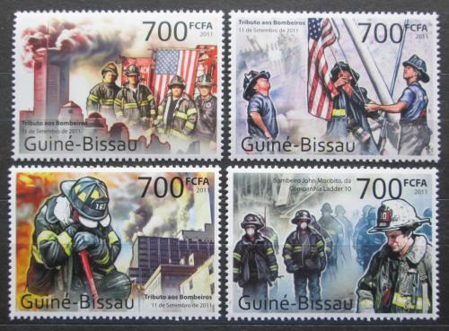 Poštovní známky Guinea-Bissau 2011 Teroristický útok 11. záøí Mi# 5493-96 Kat 9€
