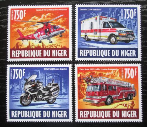 Poštovní známky Niger 2013 Záchranáøi Mi# Mi# 2446-49 Kat 12€