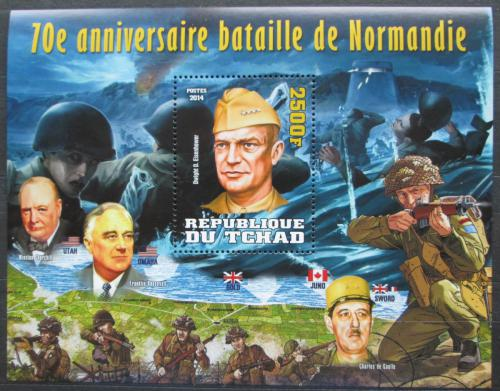 Poštovní známka Èad 2014 Bitva o Normandii, 70. výroèí Mi# N/N