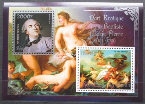 Poštovní známky Benin 2013 Umìní, akty, Pierre Mi# N/N