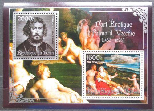 Poštovní známky Benin 2013 Umìní, akty, Vecchio Mi# N/N