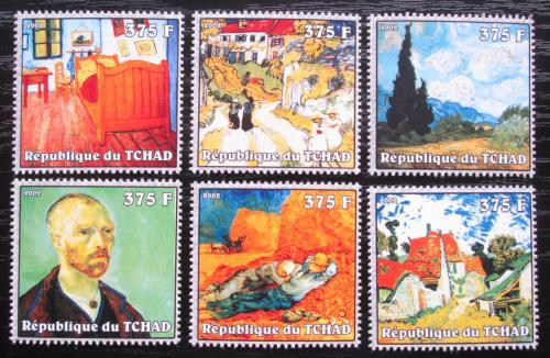 Poštovní známky Èad 2002 Umìní, Vincent van Gogh Mi# 2340-45 Kat 10€