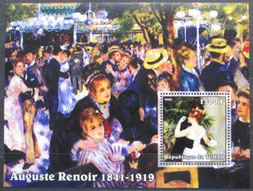 Poštovní známka Èad 2002 Umìní, Pierre-Auguste Renoir Mi# Block 353 Kat 8€