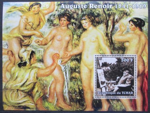 Poštovní známka Èad 2002 Umìní, Pierre-Auguste Renoir Mi# Block 350