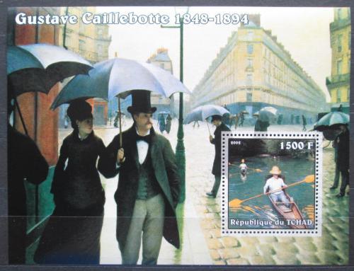 Poštovní známka Èad 2002 Umìní, Gustave Caillebotte Mi# Block 352 Kat 8€