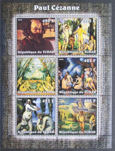 Poštovní známky Èad 2002 Umìní, Paul Cézanne Mi# 2352-57 Kat 12€