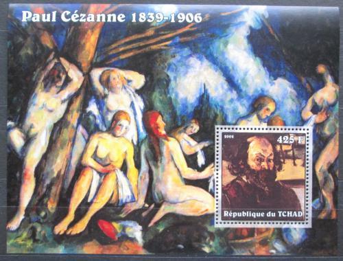 Poštovní známka Èad 2002 Umìní, Paul Cézanne Mi# Block 347