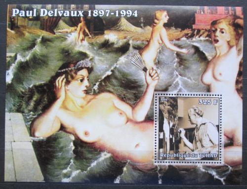Poštovní známka Èad 2002 Umìní, Paul Delvaux Mi# Block 343