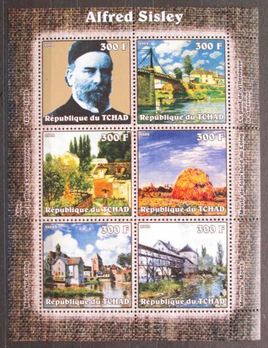 Poštovní známky Èad 2002 Umìní, Alfred Sisley Mi# 2322-27 Kat 8.50€