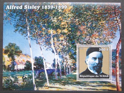 Poštovní známka Èad 2002 Umìní, Alfred Sisley Mi# Block 342