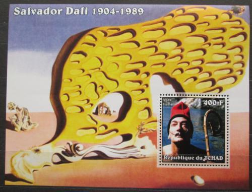 Poštovní známka Èad 2002 Umìní, Salvador Dalí Mi# Block 346