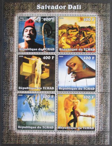 Poštovní známky Èad 2002 Umìní, Salvador Dalí Mi# 2346-51 Kat 11€