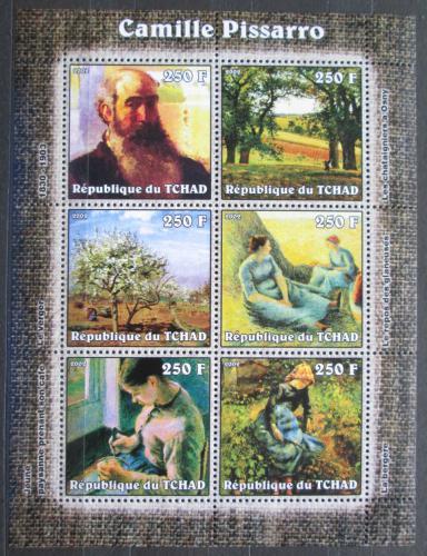 Poštovní známky Èad 2002 Umìní, Camille Pissarro Mi# 2316-21 Kat 7.50€